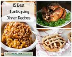 15 Best Thanksgiving Dinner Recipes | Looking to shake up your traditions this year? You'll love these Thanksgiving recipes!
