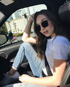 "chandelierdancer: ""maddieziegler: kalani yelled at me for having my foot on the seat """