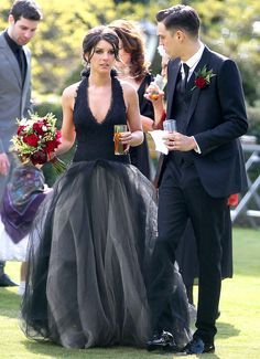 Black Wedding Dresses 2013 | in a black Vera Wang gown, and Josh Beech were married on May 10, 2013 ...