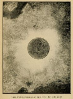 The Total Eclipse Of The Sun, June 8,1918