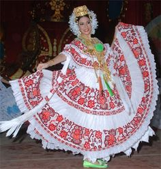 pollera painting - Google Search