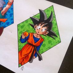 Goten Tattoo Design by Hamdoggz