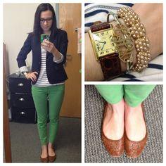 OOTD (Taken with instagram) Blazer, Gap Shirt, Old Navy Pants, Urban Flats, Steve Madden