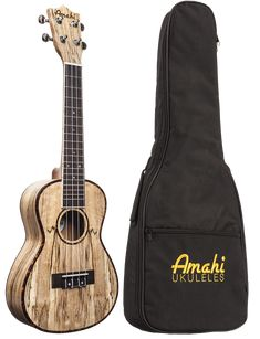 Amahi Classic Spalted Maple Ukulele Overview: From a great company, based in America, with tons of experience, the Amahi Classic Spalted Maple Ukulele is excellent for beginners looking for a great in