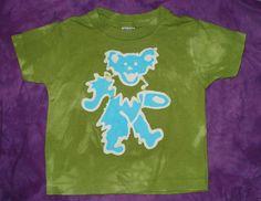 Grateful Dead Dancing Bear Kids Tee Shirt CUSTOM MADE