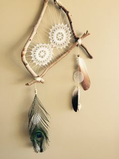 Handmade Dream Catcher van TheTalesOfMomu op Etsy