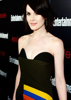 Michelle Dockery attends the Entertainment Weekly celebration...