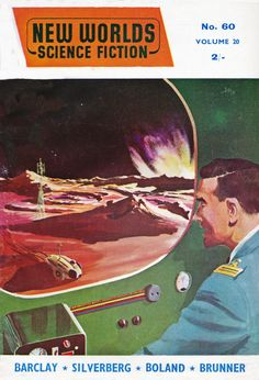 New Worlds Science Fiction. No,60 June.1957 Cover Art. Terry
