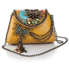 Mary Frances Urban Nature Beaded Bag