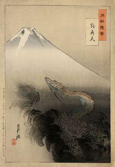 Ogata Gekko - Ryu sho ten - Укиё-э — Википедия