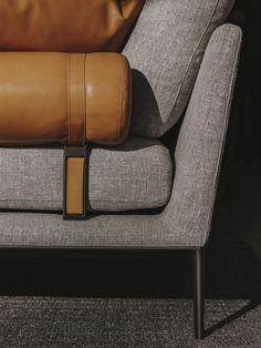 Seamlessly suiting a broad range of finishes: B&B Atoll seating system by Antonio Citterio. Photo credits: Salva Lopez #bebitalia #furnituredesign #bebatoll #antoniocitterio