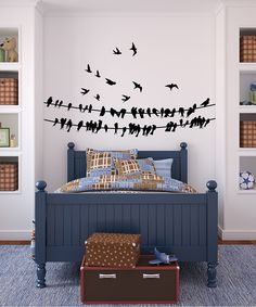 Black Birds wall decal