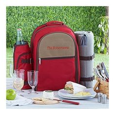 Need a unique gift? Send The Perfect Picnic Set-Red and other personalized gifts at Personal Creations.