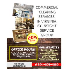 oneISG is among the best commercial cleaning companies that offers top notch commercial cleaning services in Virginia. Hotel Cleaning, Cleaning Companies, Bathroom Cleaning, Commercial Cleaning Company, Construction Cleaning, Medical Dental, Best Commercials, Janitorial, Schools