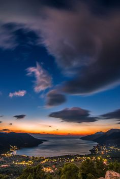 ~~Blue hour | Yermenos, Attica, Greece | by Vagelis Pikoulas~~
