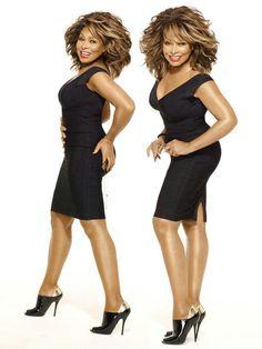 Tina Turner at 73 yrs old - she looks FABULOUS!!!