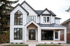 Farmhouse Architecture, Modern Farmhouse Exterior, Dream House Exterior, Dream House Plans, American Houses, American Style House, Sims House, House Goals, Future House