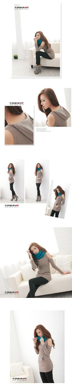 I love the color of the scarf with this F-DNA- Off-Shoulder Long Sleeve Top. Asian Fashion, Dna, Long Sleeve Tops, Lifestyle, My Love, Shoulder, My Style, Hair Styles, Outfits
