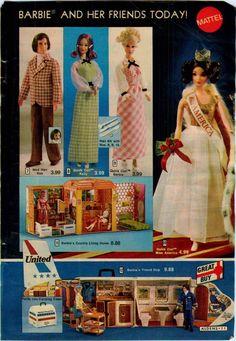 1973 Advertisement Miss America Barbie Ken Quick Curl Barbie House Plane Friendship    eBay