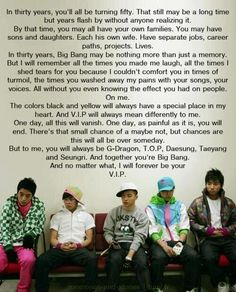Thank you. This one for : Solmates, Dragons, Champions, Joker,Charmers all over the world  .BIGBANG +VIP = CHAPPSEOLTTEOK