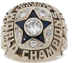 NFL Philadelphia Eagles World Champions Silver Ring