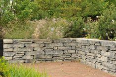 Stone Walling Naturel Grijs/Zwart 18 x 42 x 8 cm per 100 M2, Garden Design, Sidewalk, Patio, Urban, House, Design Ideas, Lawn And Garden, Home