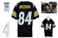 Antonio Brown Signed Jersey JSA Witness Pittsburgh Steelers Autographed     Check  out the image by visiting the link. (Note Amazon affiliate link) 69cd1c7ac