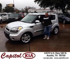 #HappyAnniversary to Florida Gums on your 2011 #Kia #Soul from Robert Bills at Capitol Kia!
