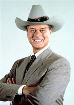 """This 1981 file photo provided by CBS shows Larry Hagman in character as J.R. Ewing in the television series """"Dallas."""" Actor Larry Hagman, who for more than a decade played villainous patriarch JR Ewing in the TV soap Dallas, has died at the age of 81, his family said Saturday Nov. 24, 2012"""
