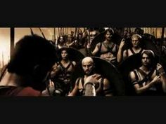 "Spartans, What is your Profession?  ""See old friend, I brought more SOLDIERS than you did.""  This is my favorite 'little' scene in the entire move ""300""."