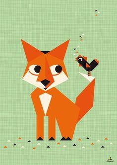 Vrolijke posters van illustrator Simone Hulsker
