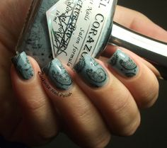 The Clockwise Nail Polish: El Corazón Eggs of the Wild Birds 423/94