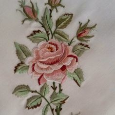A treatise on Embroidery published forgotten books Hand Work Embroidery, Embroidery Flowers Pattern, Crewel Embroidery, Flower Patterns, Machine Embroidery Designs, Hand Work Design, Decorative Hand Towels, Brazilian Embroidery, Cross Stitch Flowers