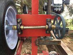 New Guy with my Sawmill Build in Sawmills and Milling Portable Bandsaw Mill, Homemade Bandsaw Mill, Portable Saw Mill, Homemade Tools, Diy Tools, Saw Mill Diy, Chainsaw Mill Plans, Diy Bandsaw, Wood Mill