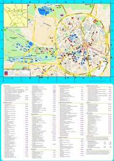 Trieste Sightseeing Map Maps Pinterest Trieste And Italy - Trieste map