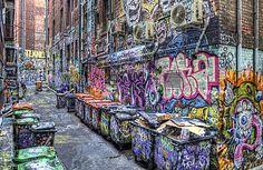 Graffiti Alley, Rutledge Lane, Melbourne    I HAVE TO GO BACK.