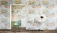 New Wallpaper from Romo by Jessica Zoob