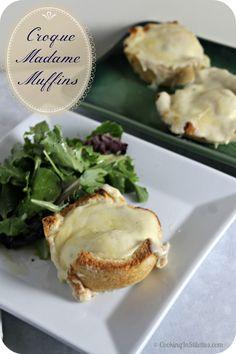 Croque Madame Muffins | Cooking In Stilettos