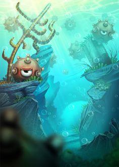 Awesome Game Illustration