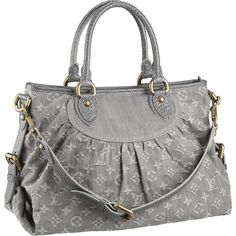 It's hard to find a nice, gray purse. This is perfect!         Louis Vuitton Monogram Idylle Neo Cabby Mm M95837 Ats...