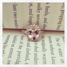 In love with these rose gold sapphire engagement rings