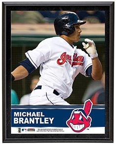 Michael Brantley Cleveland Indians Plaque