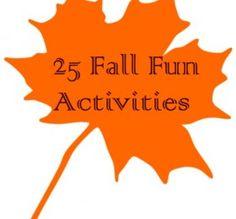 25 Fall Fun Activities
