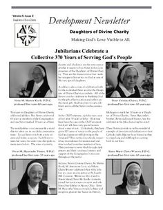 Fall 2012 - Daughters of Divine Charity