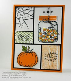 8 More Ghoulish Stampin' Up! Halloween Swap Samples!