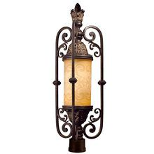 View the Eurofase Lighting 17519 Single Light Up Lighting Outdoor Post Light from the Glenhaven Collection at LightingDirect.com.