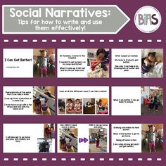 The effective use of social narratives (social stories) is a heavily debated topic among many. As a BCBA, I am always trying to ensure that I recommend the use of evidence-based practices, and unfortunately, social narratives fall along the fringe.  That being said, personally, I think there are many advantages to using a social narrative as a way to preview (or review) the expectations that accompany a complicated situation. #biasbehavioral