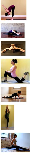 8 stretches to do the splits! I know this isn't really all about health, I just want to be more flexible.
