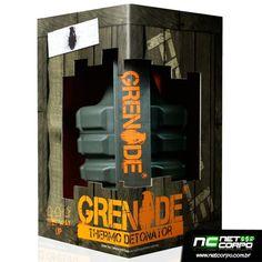 """Grenade Thermo Detonator é sucesso de vendas nos Estados Unidos e chegou agora ao Brasil. Grenade Thermo Detonator vai queimar gordura como nenhum outro termogênico jamais viu, é literalmente um """"explosão"""" de gordura.  A Jacaré Suplementos trás exclusivamente para você este incrível termogênico."""