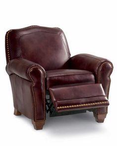 La z boy richfield high leg leather recliner - La Z Boy Comfortable Living On Pinterest Recliners